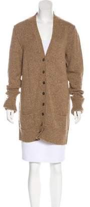 Dolce & Gabbana Virgin Wool Oversize Cardigan