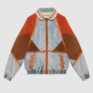 Gucci Denim jacket with SF GiantsTM patch