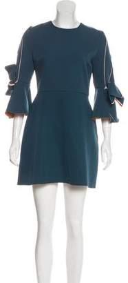 Roksanda Long Sleeve Mini Dress