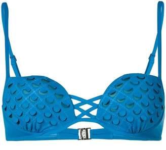 La Perla Onyx padded bikini top