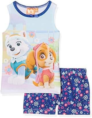 Disney Girl's Paw Patrol Pyjama Sets,4-5 (Size:5 Years)