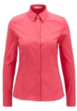 BOSS Hugo Cotton Dress Shirt Basatia 0 Open Pink