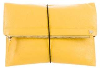 Max Mara Weekend Grained Flat Clutch