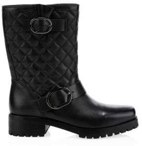 MICHAEL Michael Kors Rosario Quilted Leather Mid-Calf Boots