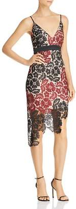 Bardot Eve Asymmetric Lace Dress