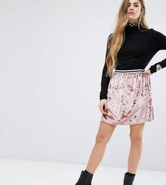 Rokoko Skater Skirt With Stripe Waistband