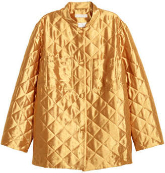 H&M Quilted Jacket - Brown