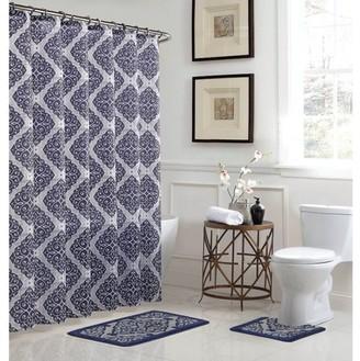 Bath Fusion Camille 15-Piece Bathroom Shower Set