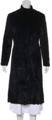 Carrie Forbes Fur Long Coat