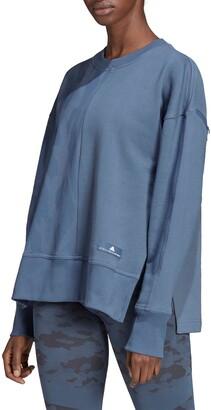 adidas by Stella McCartney Camo Detail Vented Sweatshirt