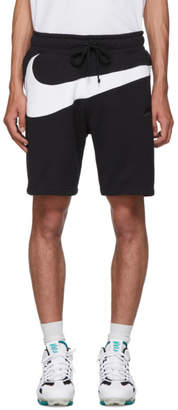 Nike Black Swoosh Shorts