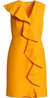 Emilio Pucci Ruffled Wool And Silk-Blend Mini Dress