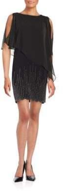 Xscape Evenings Embellished Popover Dress
