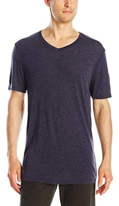 Michael Stars Men's Short Sleeve Bamboo Jersey V-Neck T-Shirt