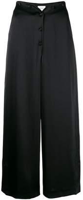 Nanushka cropped button trousers