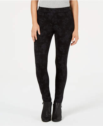 Style&Co. Style & Co Printed Leggings with Comfort Waist