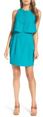 Women's Adelyn Rae Popover Sheath Dress $89 thestylecure.com