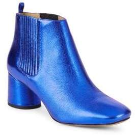 Marc Jacobs Rocket Metallic Leather Chelsea Boots