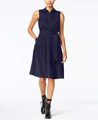 Maison Jules Utility-Pocket A-Line Dress, Created for Macy's $89.50 thestylecure.com