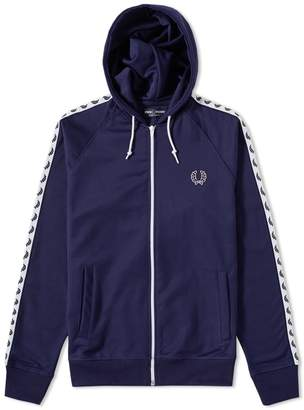 Fred Perry Authentic Laurel Taped Hooded Track Jacket