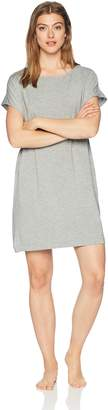 Hanro Women's Natural Elegance Short Sleeve Gown