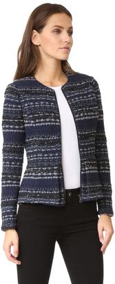 Rebecca Taylor Lurex Tweed Jacket $575 thestylecure.com
