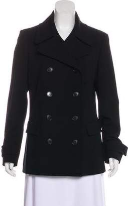 Theory Double-Breasted Wool Coat