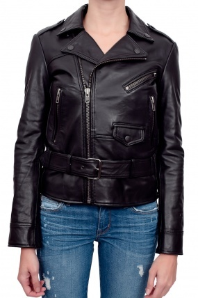 Surface to Air Fecto Leather Jacket Black