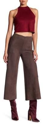 Level 99 Sonia Faux Suede Gaucho Pants