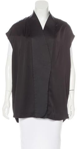 Stella McCartney Stella McCartney Satin Button-Up Vest