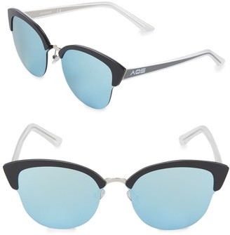 Aqs Tinted 70MM Clubmaster Sunglasses