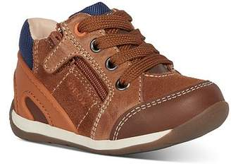Geox Boys' B Each Lace-Up Leather Sneakers - Baby, Walker, Toddler