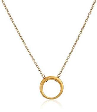 Dogeared Karma Retro Ring Chain Necklace