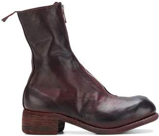 Guidi front zip boots