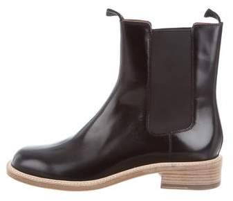 Céline Patent Leather Chelsea Ankle Boots w/ Tags
