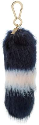 at Dune · Dune ACCESSORIES SHELBIE - Striped Faux Fur Tail Bag Charm 866f64ce74fe5