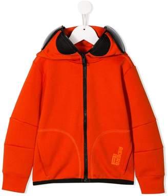 AI Riders On The Storm zipped hood jacket