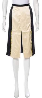 Stella McCartney Silk Knee-Length Skirt