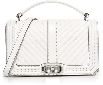 Rebecca Minkoff Chevron Quilted Cross Body Bag $325 thestylecure.com