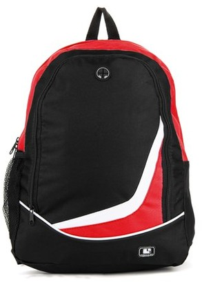 SUMACLIFE SumacLife Nylon Student's Large School Backpack with Multiple Compartments