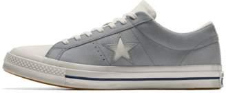 Nike Converse Custom One Star Suede Low Top Shoe