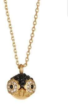 Kate Spade Dashing Beauty Crystal Penguin Pendant Necklace
