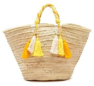 Giselle Tara Straw Tote Bag