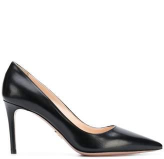 Prada classic leather pumps