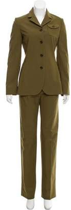 Prada Structured Two-Piece Pantsuit