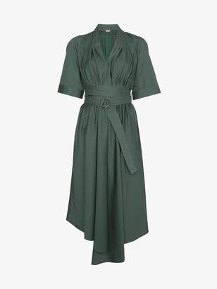 ADAM by Adam Lippes asymmetric cotton midi dress