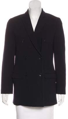Calvin Klein Collection Wool Longline Blazer