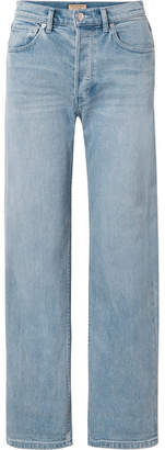 Burberry (バーバリー) - Burberry - High-rise Straight-leg Jeans - Blue