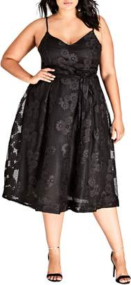 City Chic Love Fling Dress