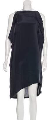 3.1 Phillip Lim Silk-Paneled Knee-Length Dress w/ Tags